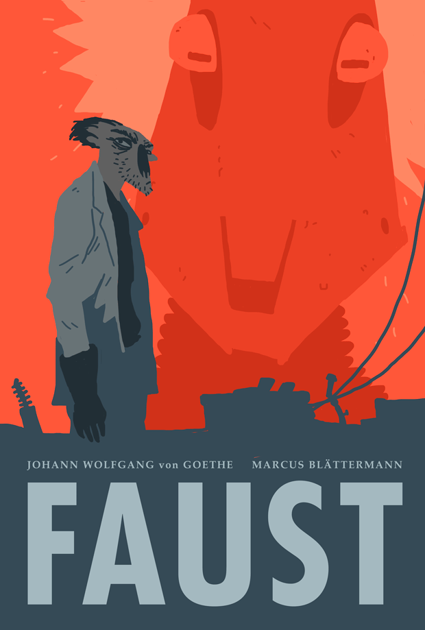 cover of my comic Faust